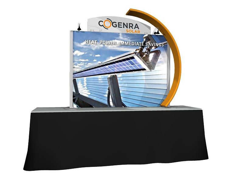 PCG TT.03 6' Table Top Display