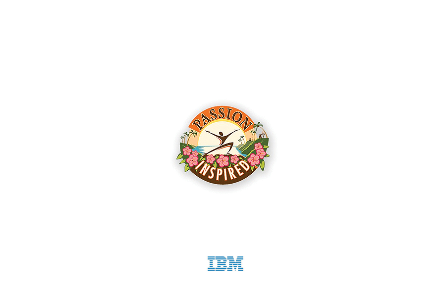 IBM Passion Inspired-Logo Design