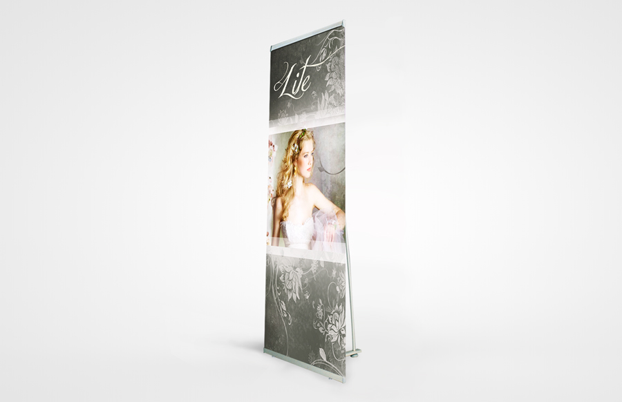 Lite 850 Non-Retractable Bannerstand