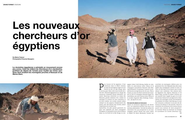Les nouveaux chercheurs d'or égyptiens —01. Bijoutiers magazine