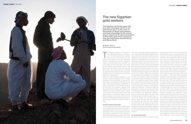 Les nouveaux chercheurs d'or égyptiens —04. Bijoutiers magazine