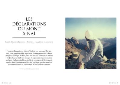 Les déclarations du mont Sinaï—01. Bouts du Monde
