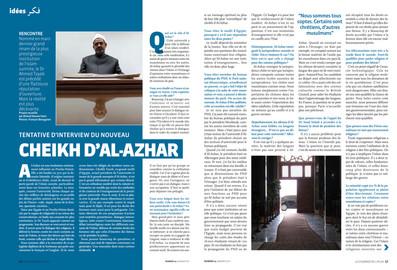 Cheikh d'Al-Azhar—01. Courrier de l'Atlas