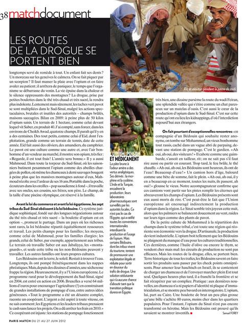 Les saisonniers de l'opium—04. Paris Match