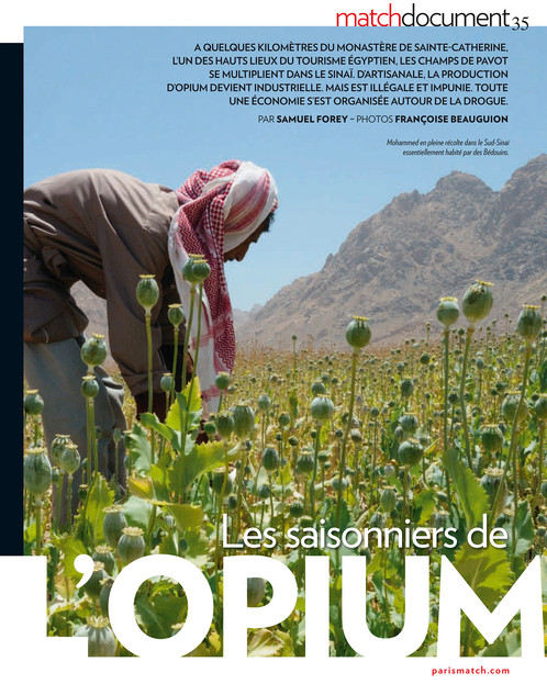 Les saisonniers de l'opium—01. Paris Match