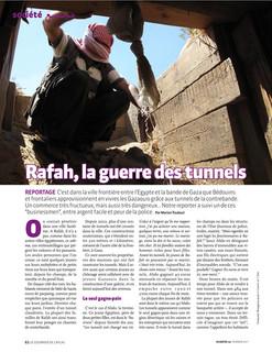 Rafah, la guerre des tunnels—01. Courrier de l'Atlas
