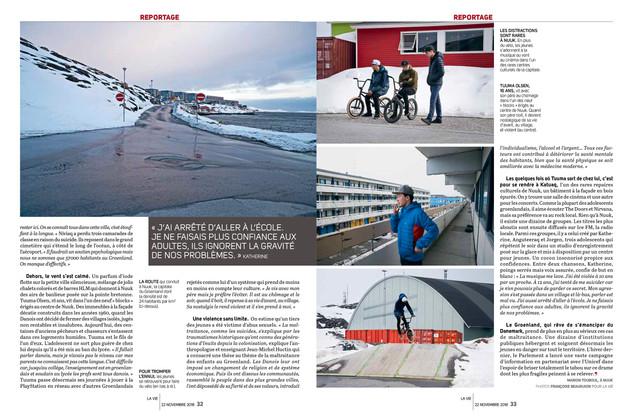 Au Groenland, une jeunesse à la dérive—02. La Vie