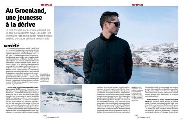 Au Groenland, une jeunesse à la dérive—01. La Vie
