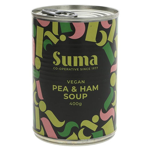 Pea and Vegan Ham Soup (400g)