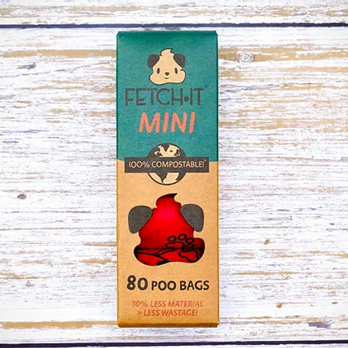 Compostable Mini Poop Bags (80 Bags)