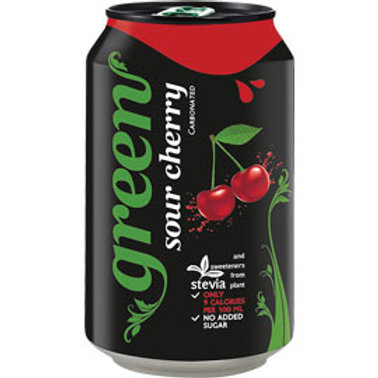 Green Cola - Sour Cherry (330ml Can)