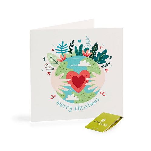 Recycled Eco Card - Eco Earth