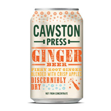 Cawston Press - Ginger Beer (330ml Can)