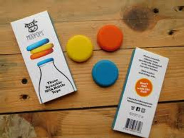 Milk Bottle Tops (3 pack)