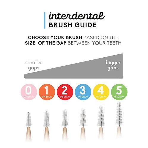 Interdental Brush (Pack of 8)