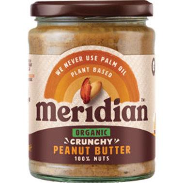 Organic Peanut Butter - Crunchy (470g)