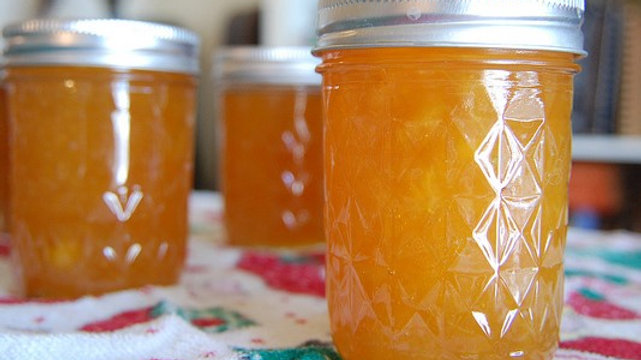 Grumpy's Homemade Mango-Peach Jam