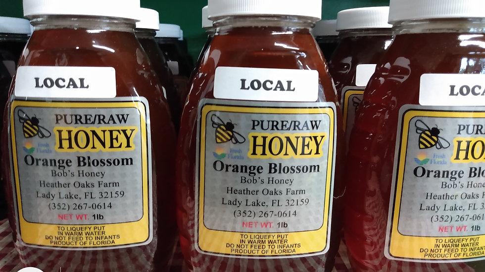 Orange Blossom Honey - 1 lb. Jar