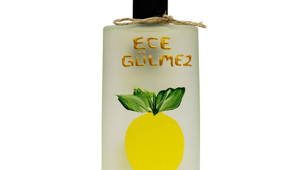 Efru - Kişiye Özel Limon Kolonyası Cam Şişe