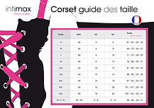 Manuel, Corset Guide Taille