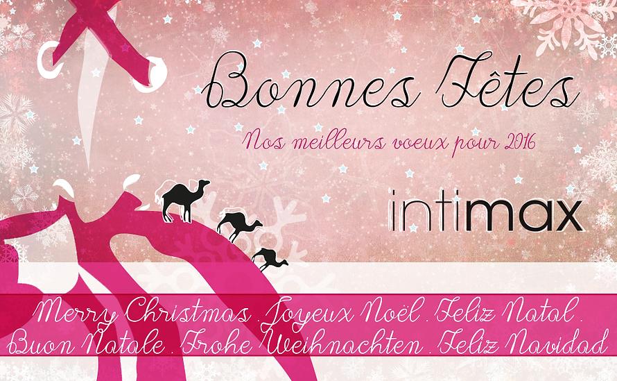 Joyeux Noël intimax