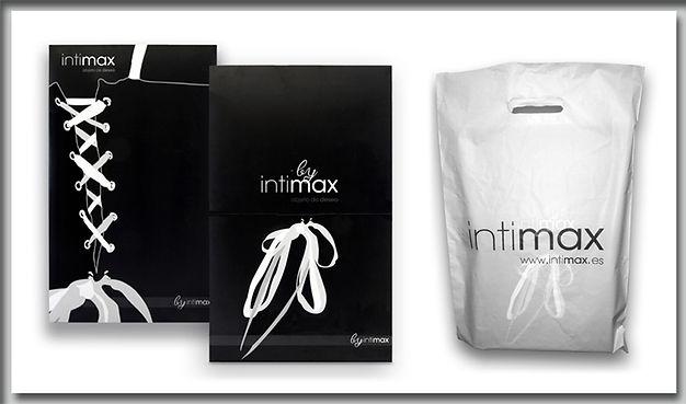 Giftbox corset intimax and bag
