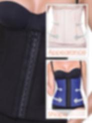 Moulder corset waistline by intimax