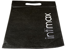 black fabric bag intimax