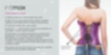 Cómo ajustar un corset intimax