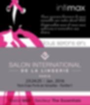 Intimax dans le Salon International de la Lingerie. Du 23 au 25 Janvier à Paris.
