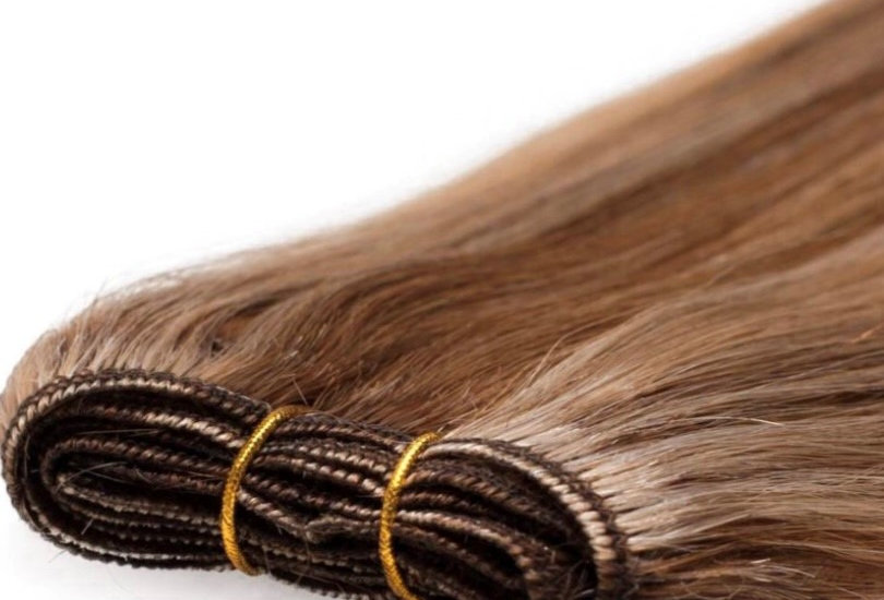 """Weft  double drawn 20"""" 150g Russian remy human hair"""