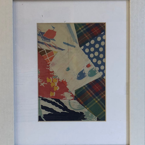 Sue's Quilt Framed #2