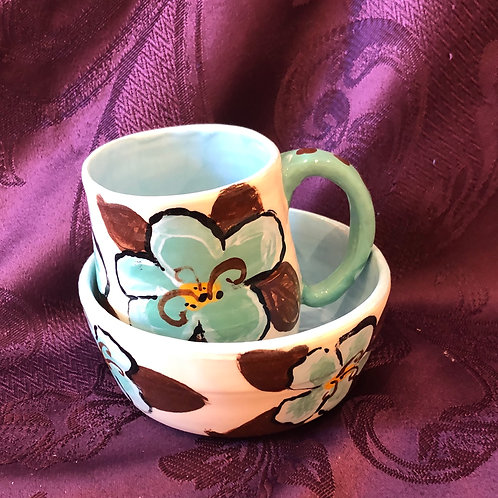 Cup and Bowl Set