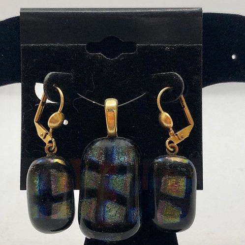 Pendant and Earrings Set