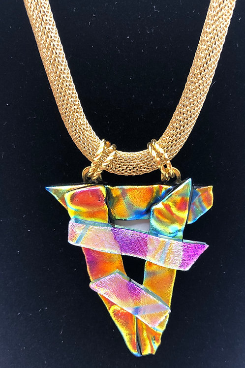 Dicho Glass Necklace