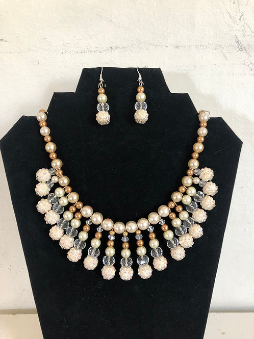 RBG Necklace and Earring
