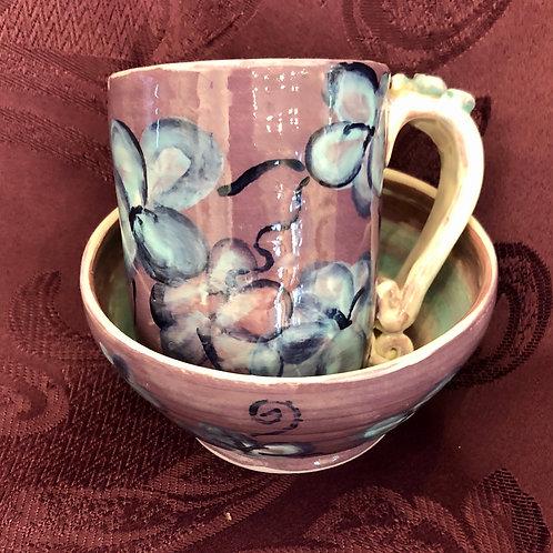 Ceramic Cup and Bowl