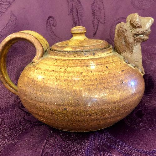Ceramic Frog Teapot