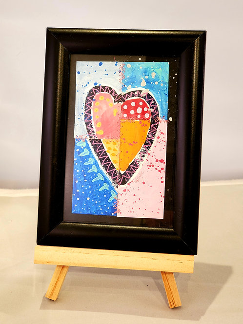 Small Framed Heart