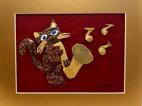 Saxphone Cat