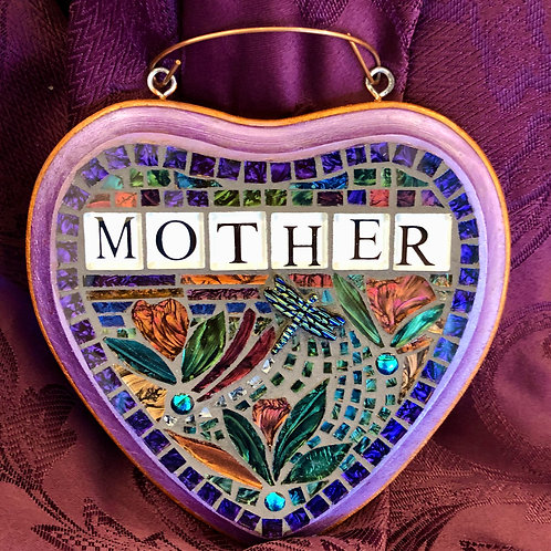 """""""Mother"""" Mosaic Hanging"""