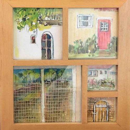 Doors and Windows Watercolor