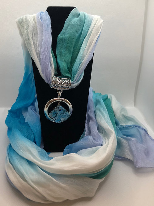 Scarf with Charm