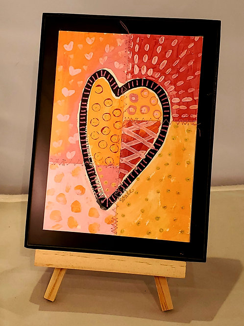 Medium Framed Heart