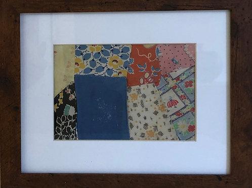 Sue's Quilt Framed #1