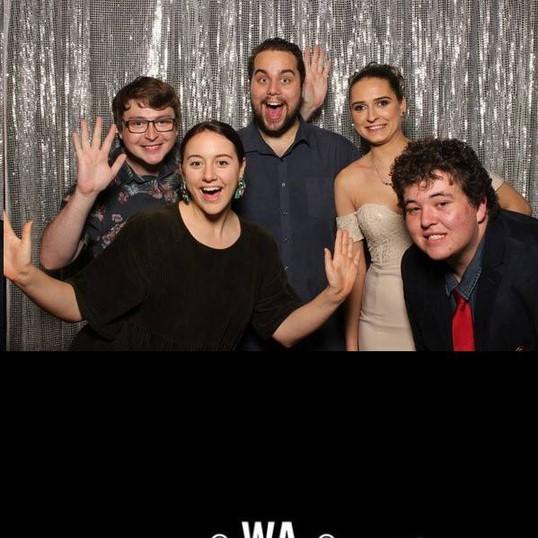 At the WA Youth Awards