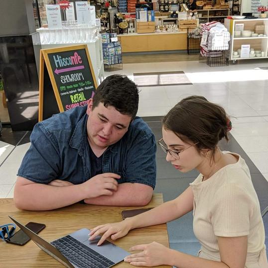 YDAN Team doing an Audit