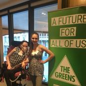 YDAN Team at a Greens event
