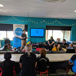 Presenting to young people