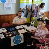 YDAN Team at an Expo